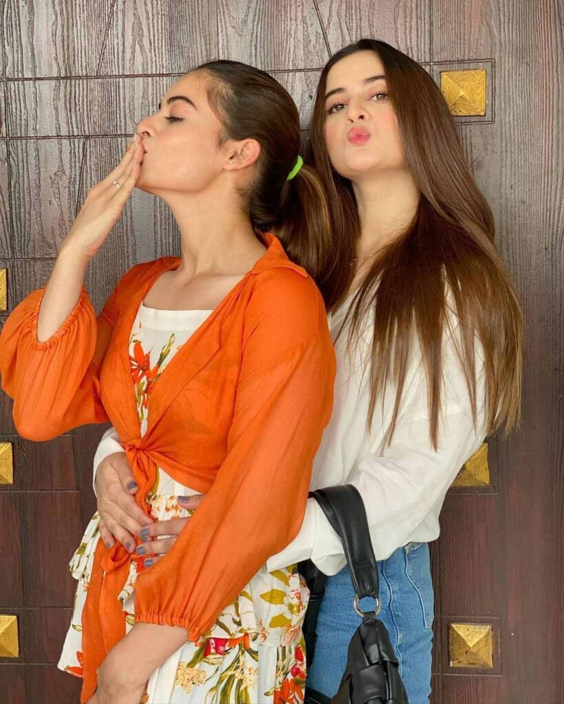 aiman khan and minal khan