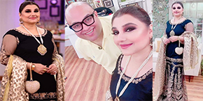 Javeria Saud in Nida Yasir Morning Show