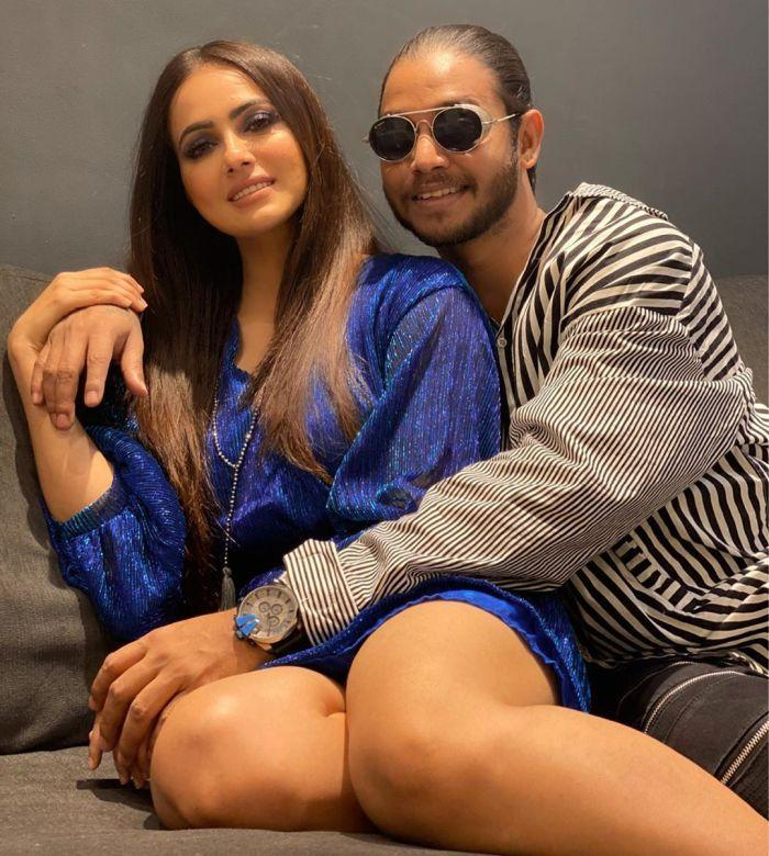 sana khan and melvin louis relationship