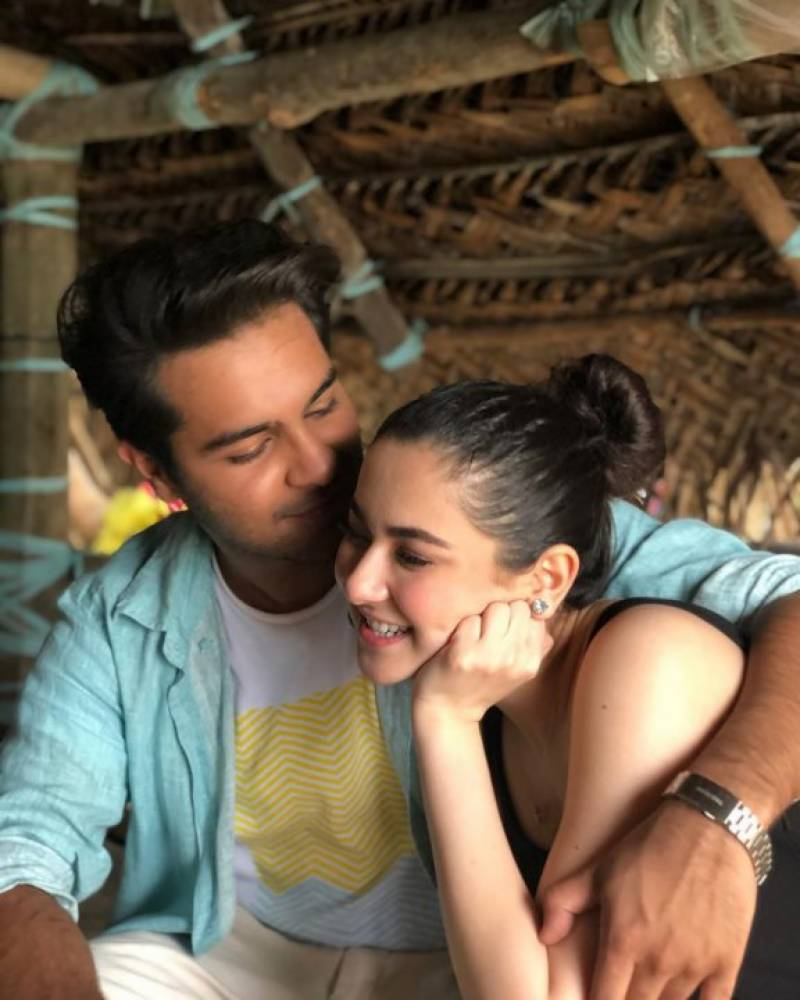 Hania Aamir And Asim Azhar