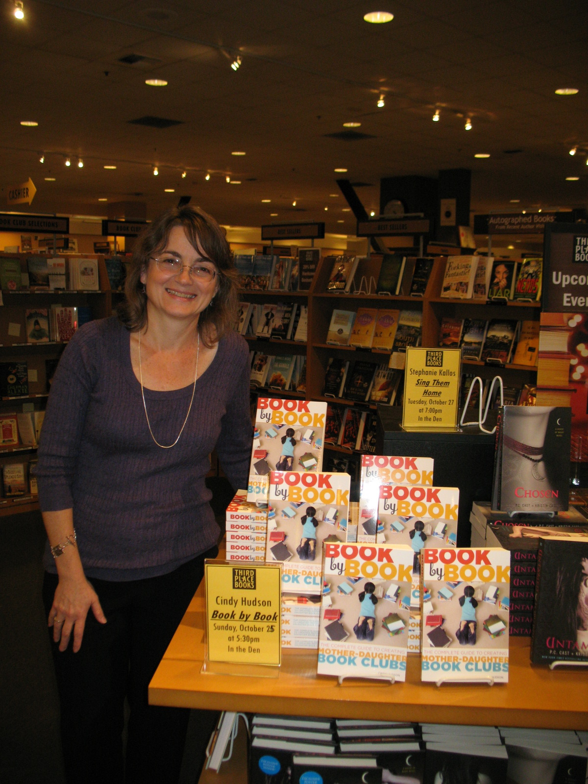 Cindy Hudson at Third Place Books 2 image