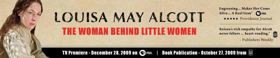 Louisa May Alcott PBS Biography image