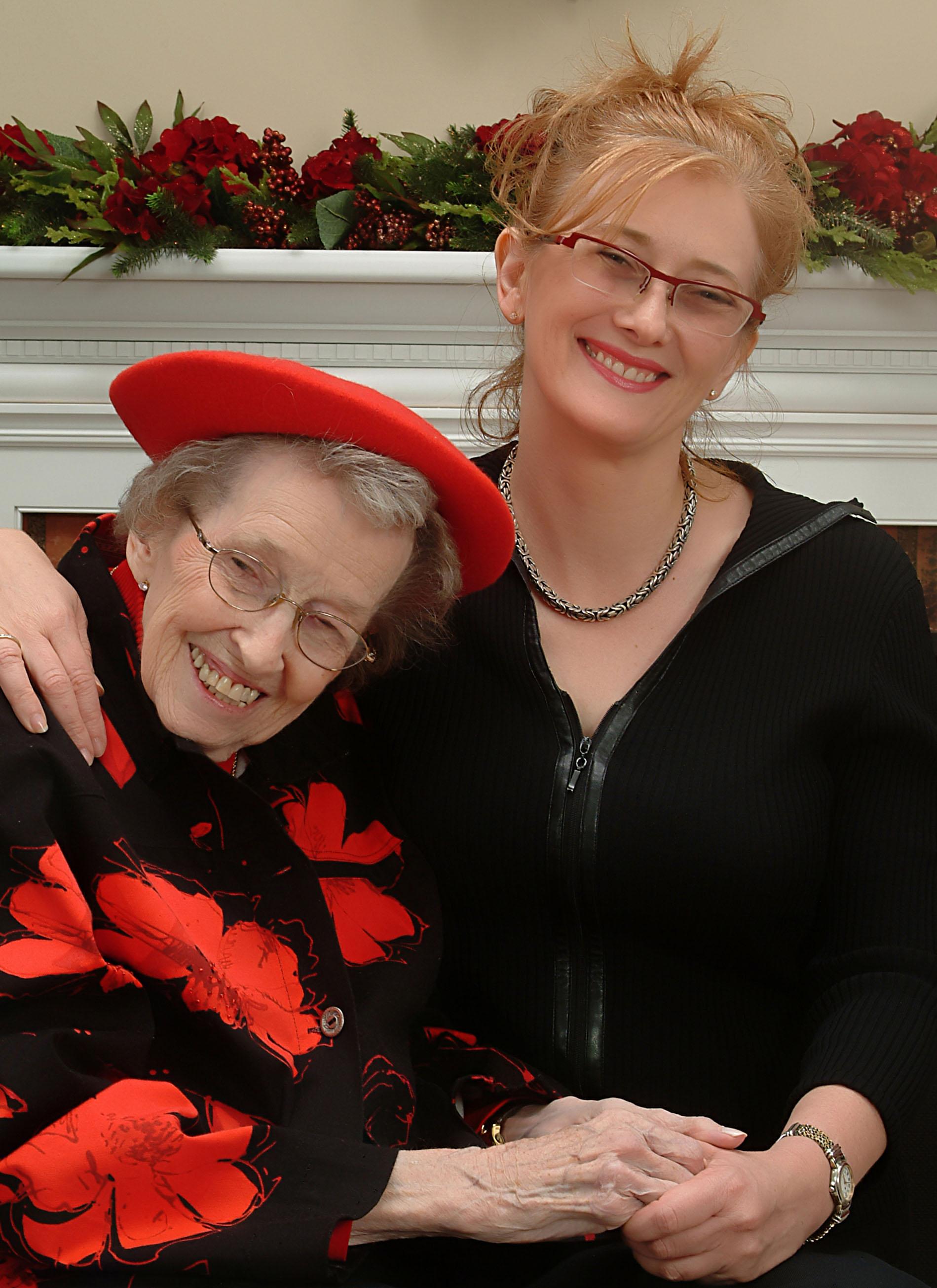Jo Maeder and Mama Jo image