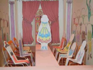 Rosie Flo's Coloring Fashion Show Runway