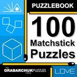 100 Matchstick Puzzles cover image