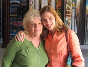 Irene Latham and her mother Mary Hughs