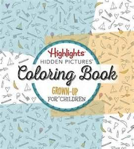Highlights Hidden Pictures Coloring Book