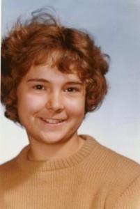 Author Nancy Oswald at 11