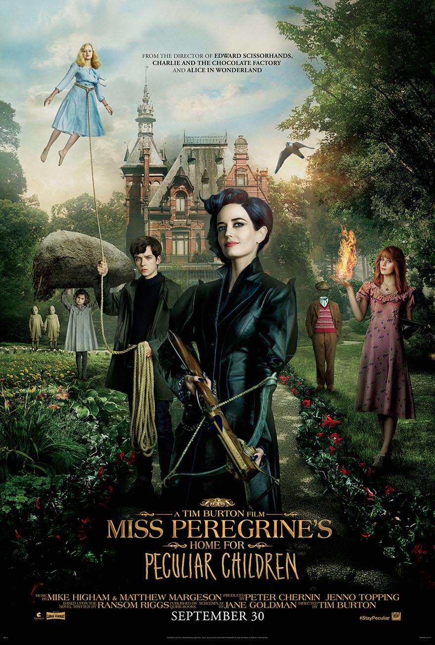 Miss Peregrine's Home movie poster