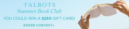 Talbots Summer Book Club banner