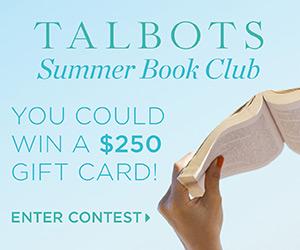 Talbot's Summer Book Club graphic
