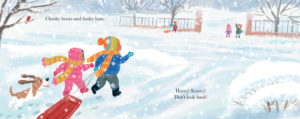 First Snow inner page