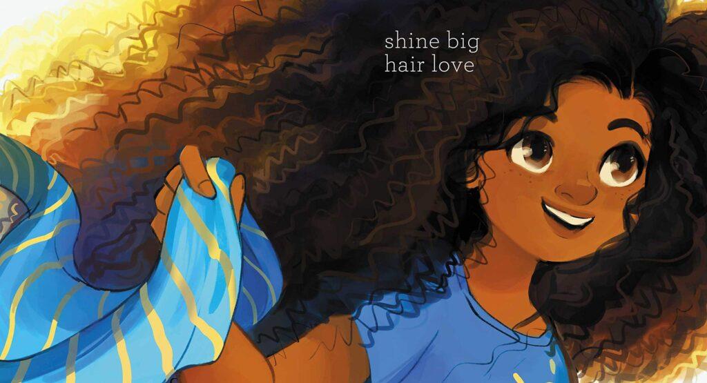 Curls inside art