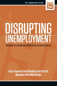 DisruptingUnemployment - front cover