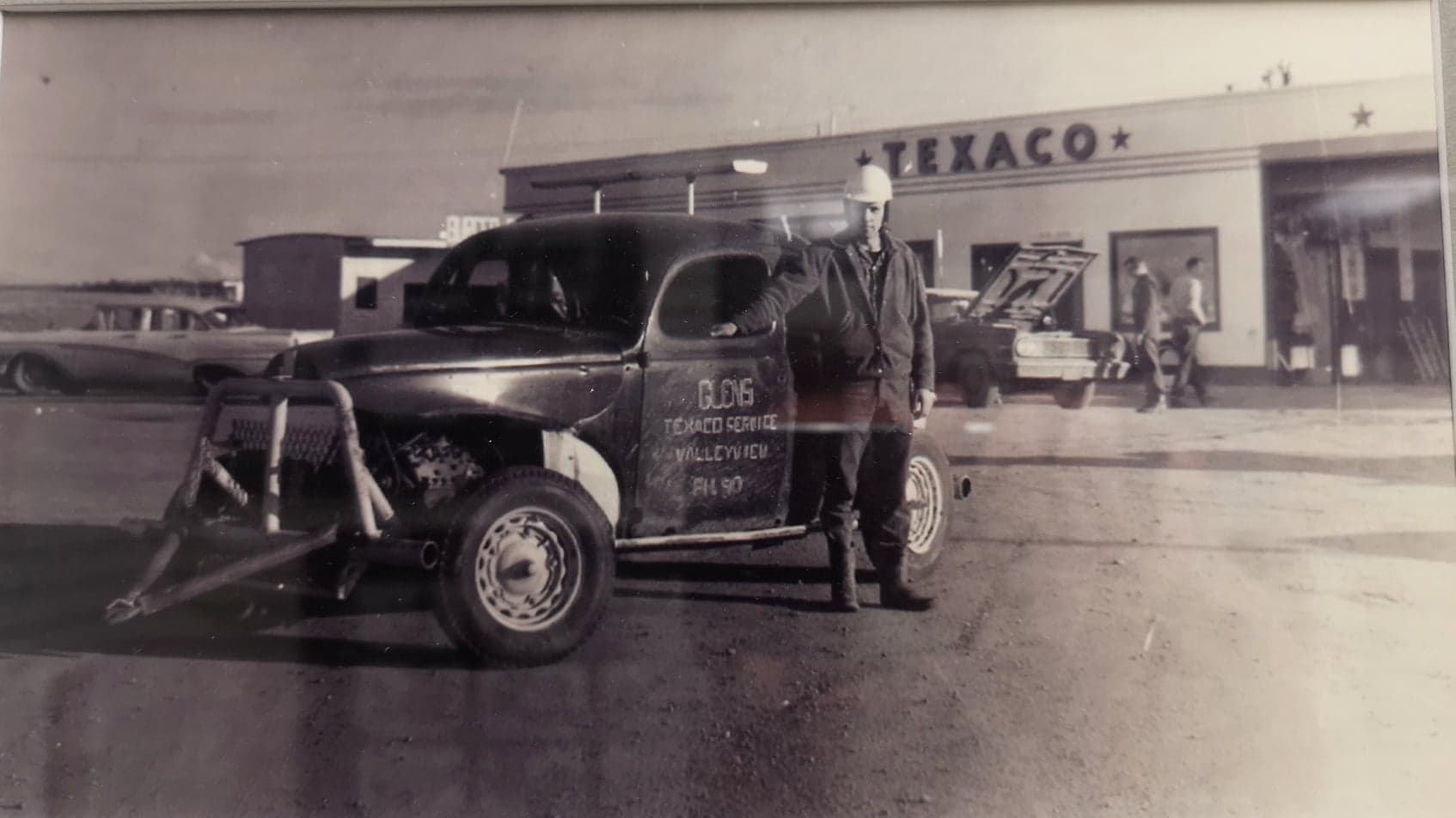 Texaco Valleyview Alberta 1950s