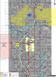 Preliminary Highway Realignment Concept 1