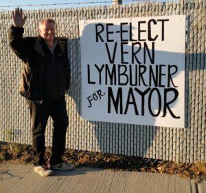 Vern Lymburner Mayoral Incumbant