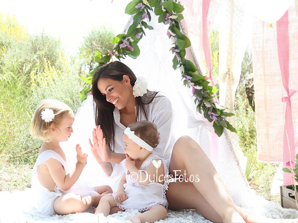 Fotografia de mamás y bebés