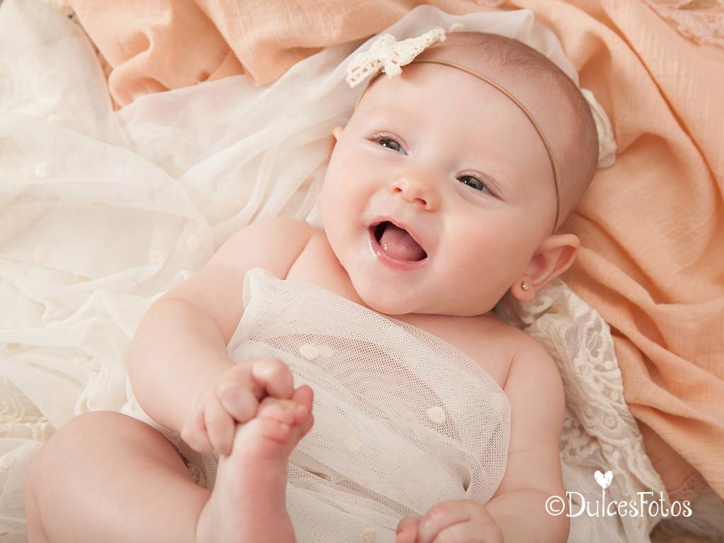 DulcesFotos bebé 4 meses 2