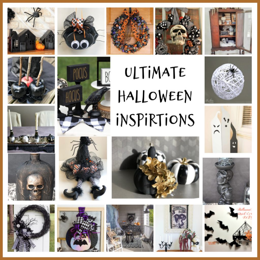 Create a DIY Halloween atmosphere with these not too spooky, and easy decor projects.