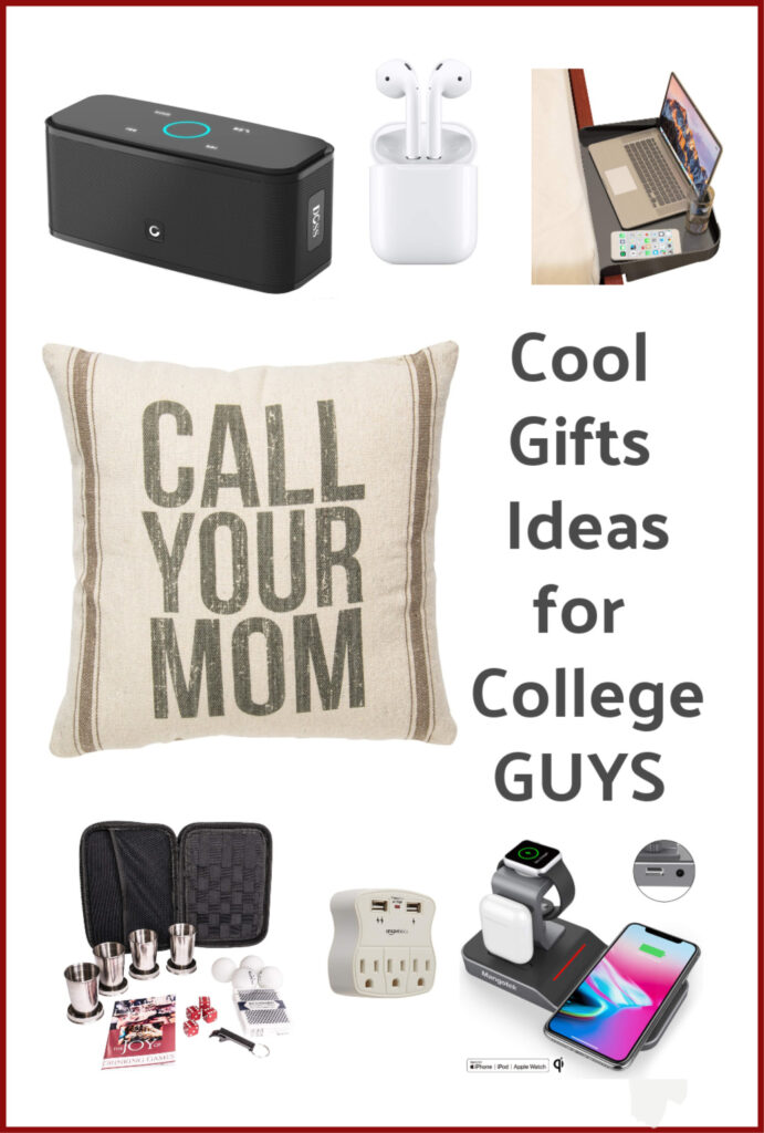 Need a gift for college guys that they actually want?  Here are some cool gift ideas for college guys. I know all they want is just few things