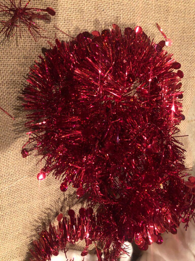 Chunky yarn Finger knit magical White Christmas Tree . Dollar tree Christmas upcycle. Chunky yarn Christmas diy