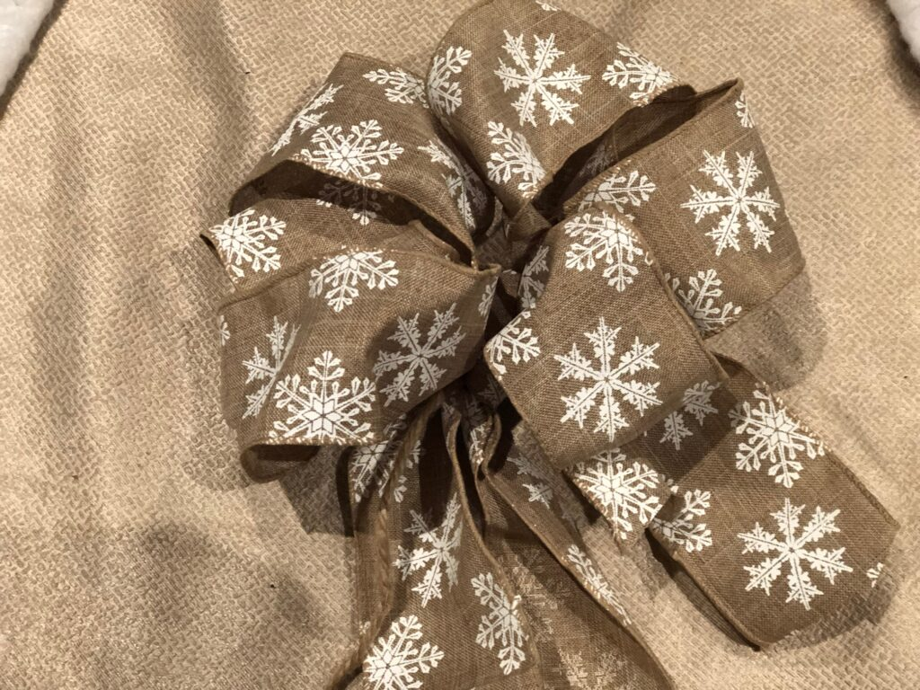 Simple Folded Easy rustic easy bow