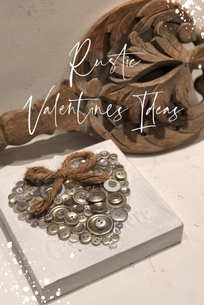 Who said Valentines Day decor needs to be all about pink and red? Check out our rustic Valentines Day ideas. super easy and budget friendly evergreen decor