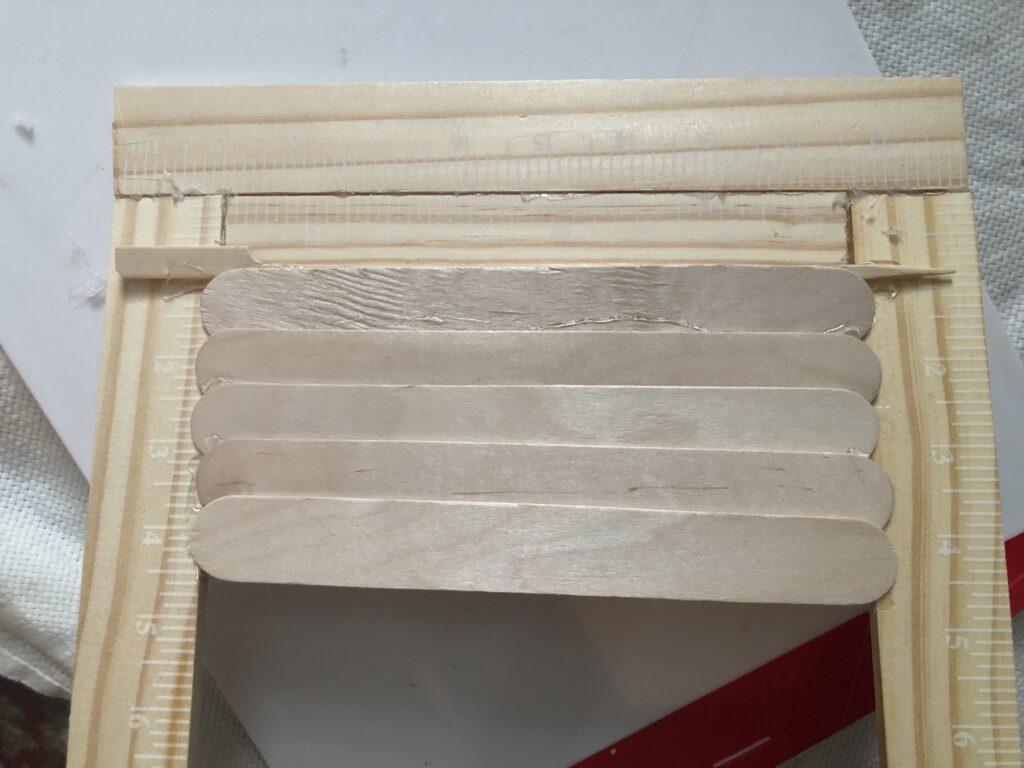Do.you know how to build plantation shutters? Paint stir sticks project. Super easy budget friendly,very rewarding Farmhouse DIY