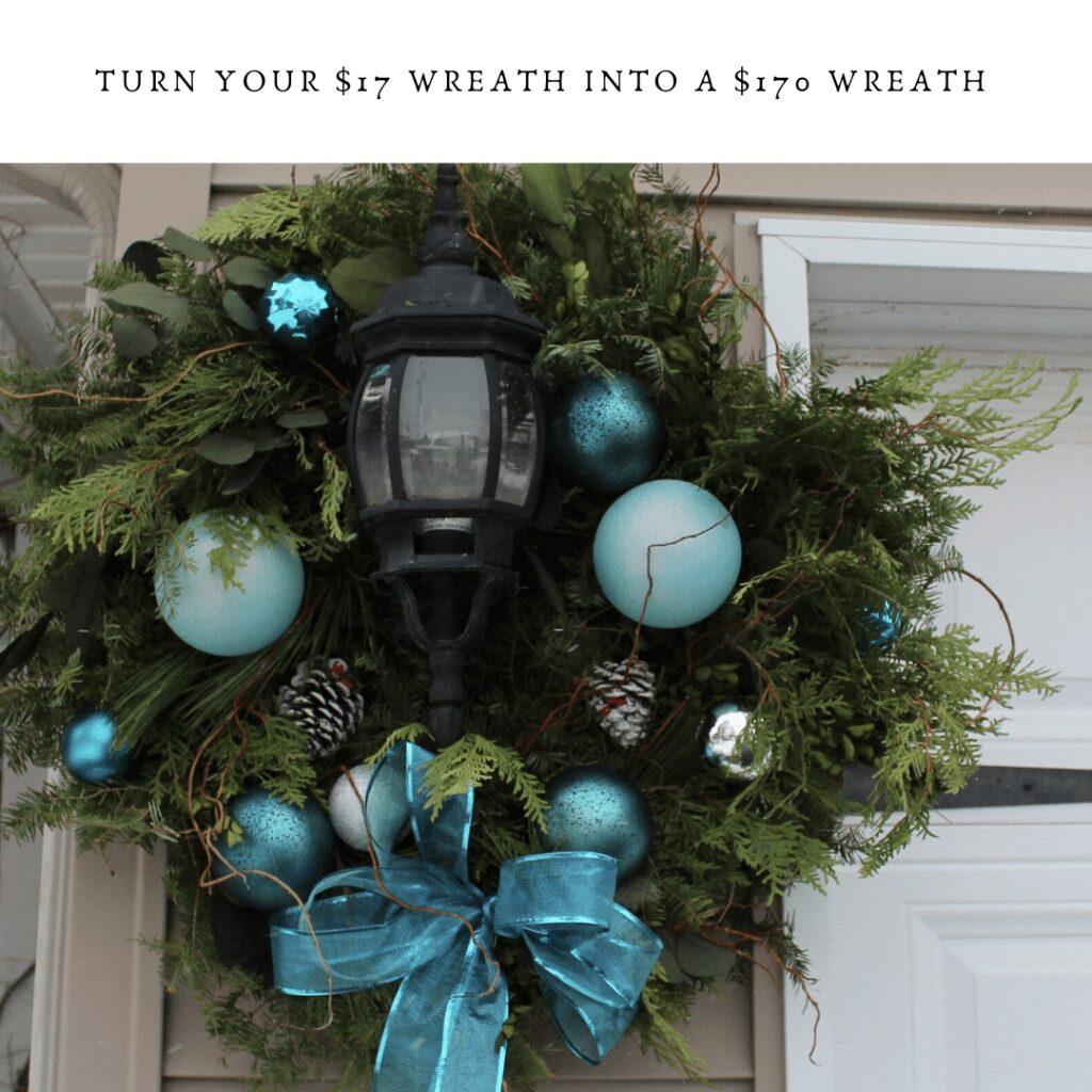 Super elegant Christmas Wreath ideas on the Budget