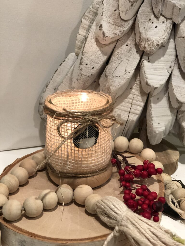 Do you love thrifty home decor? If yes, you will love what we did with Oui yogurt jars.Fun way to decorate on the budget any space