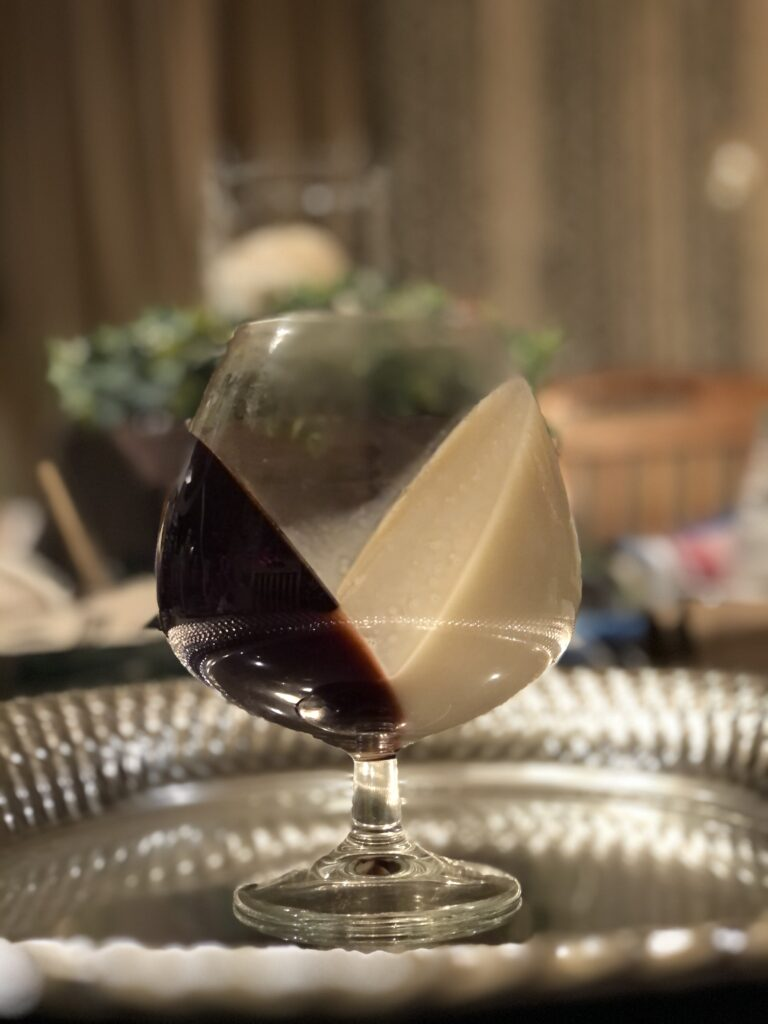 I like to share with you our favorite way to serve Jello. Simple yet very elegant way to serve treats for adults and kids alike.Easy Valentines dessert