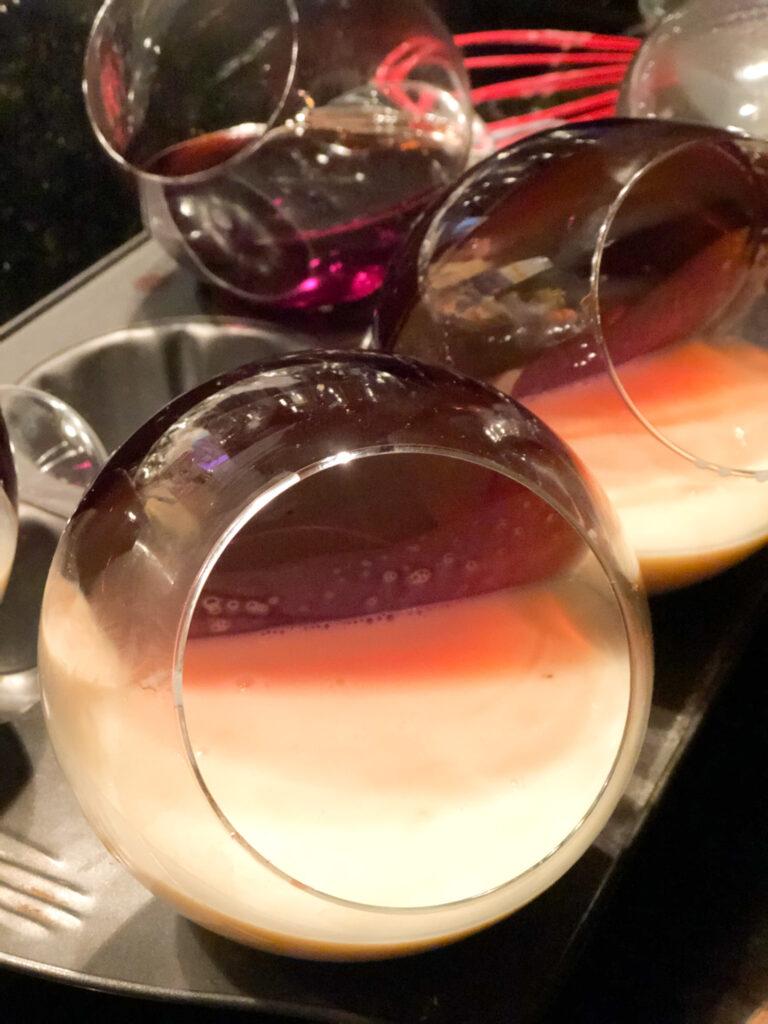 Champagne jello dessert. Heart shape jello dessert. Fesitve jello dessert for any occassion. Easy dessert diy