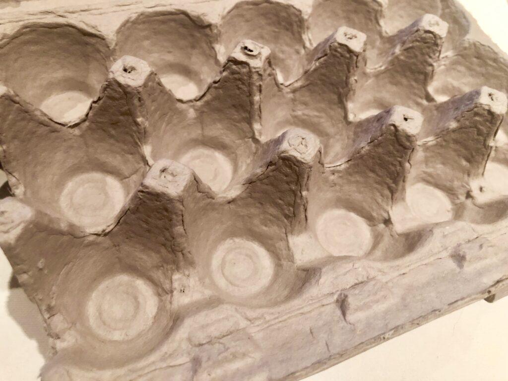How to make egg carton rose . Stunning wall decor idea. Easy rose