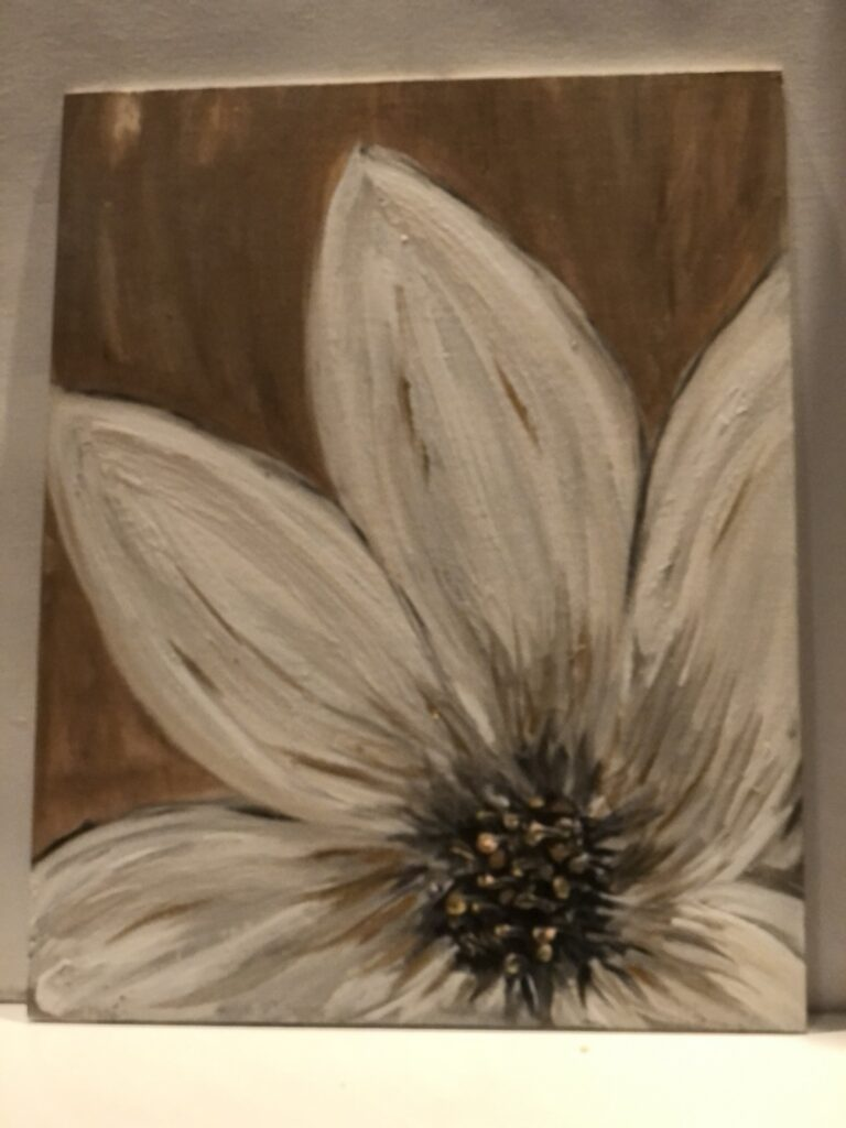 Learn how to make homemade media, texture paint for crafting. Perfect medium for crafting and stencil or even painting  all year round