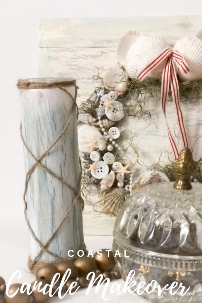 Let's turn simple glass candles from Dollar Tree to a stunning home decor piece. Easy to make home decor diy and gift idea. Learn how to crackle on the glass with me. Candle makeover