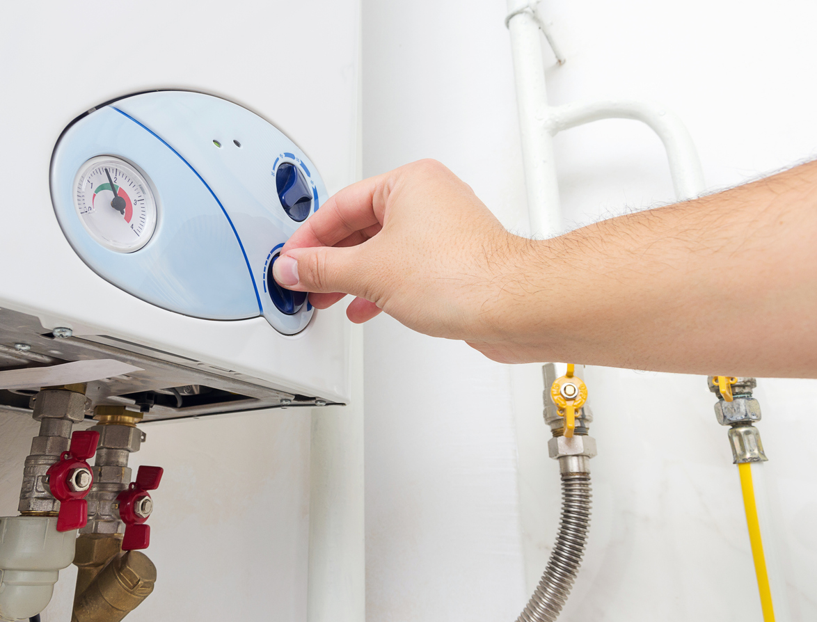adjusting tankless water heater
