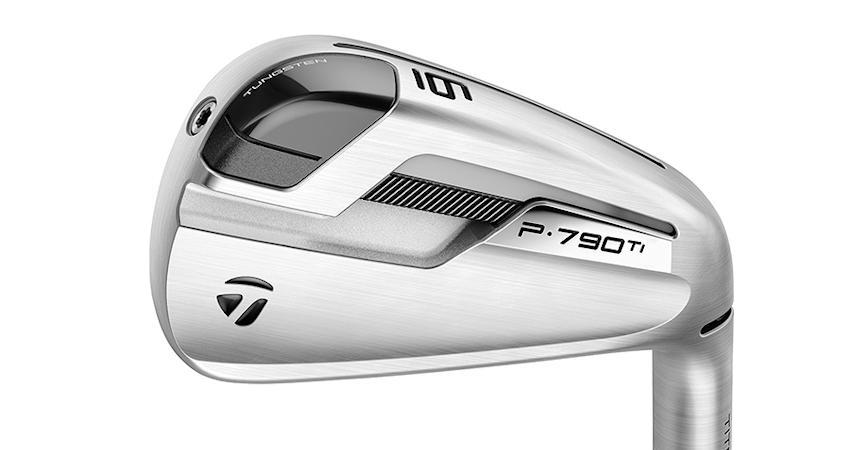 TaylorMade's Latest — P·790 Ti Irons