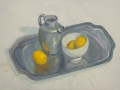 Pewter Jug and Lemons