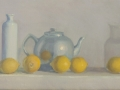 Tea Pot and Five Lemons