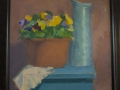 Pansies and a Jug