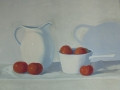 White Pitcher, Red Tomatoes