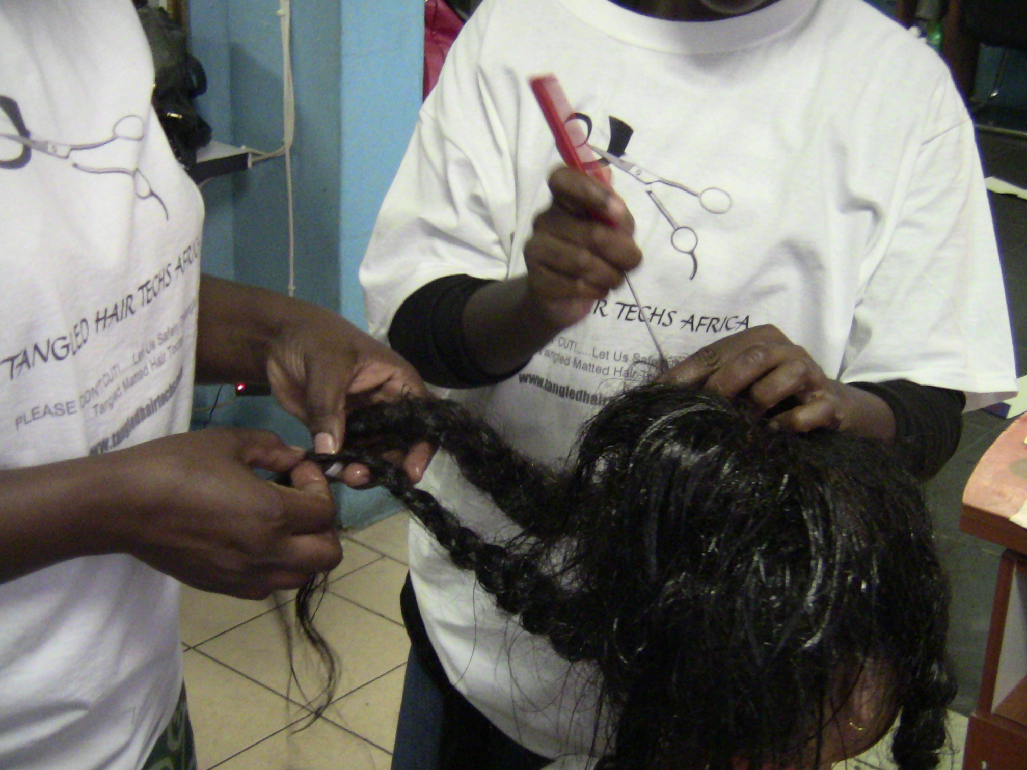 TANGLED HAIR TECHS TRAINING Program