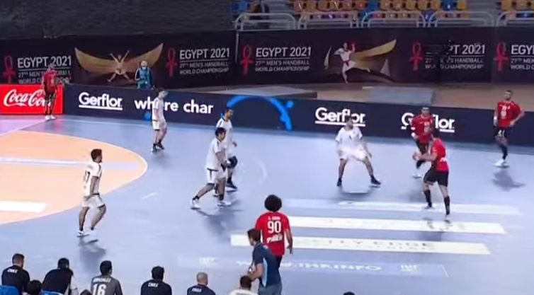 Egypt v Chile Handball