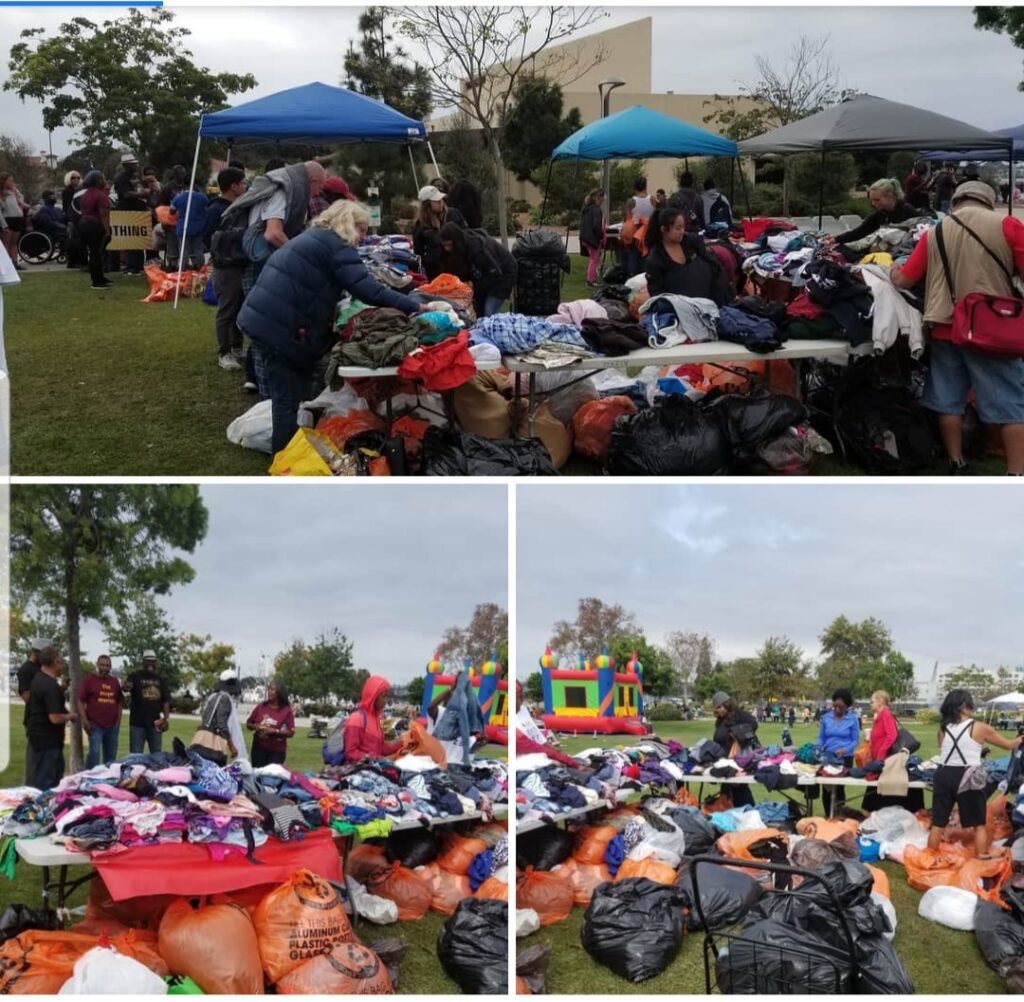 SoCal day of Hope outreach