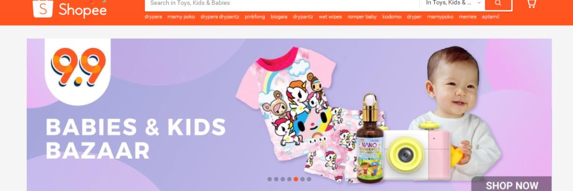 Shopee, RainbowDiaries