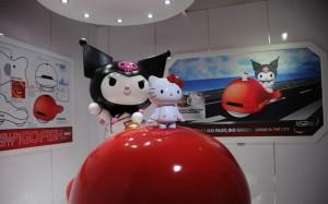 Robot K and Kuromi