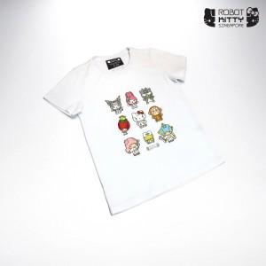 Robot Kitty Singapore Kid's T-Shirt