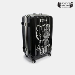 Robot Kitty Singapore Luggage 28Inch (Black) - 01