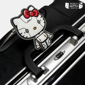 Robot Kitty Singapore Luggage 28Inch (Black) - 02